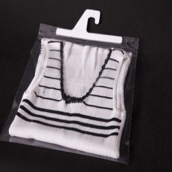 GK HW PP bags with hooks and top flap